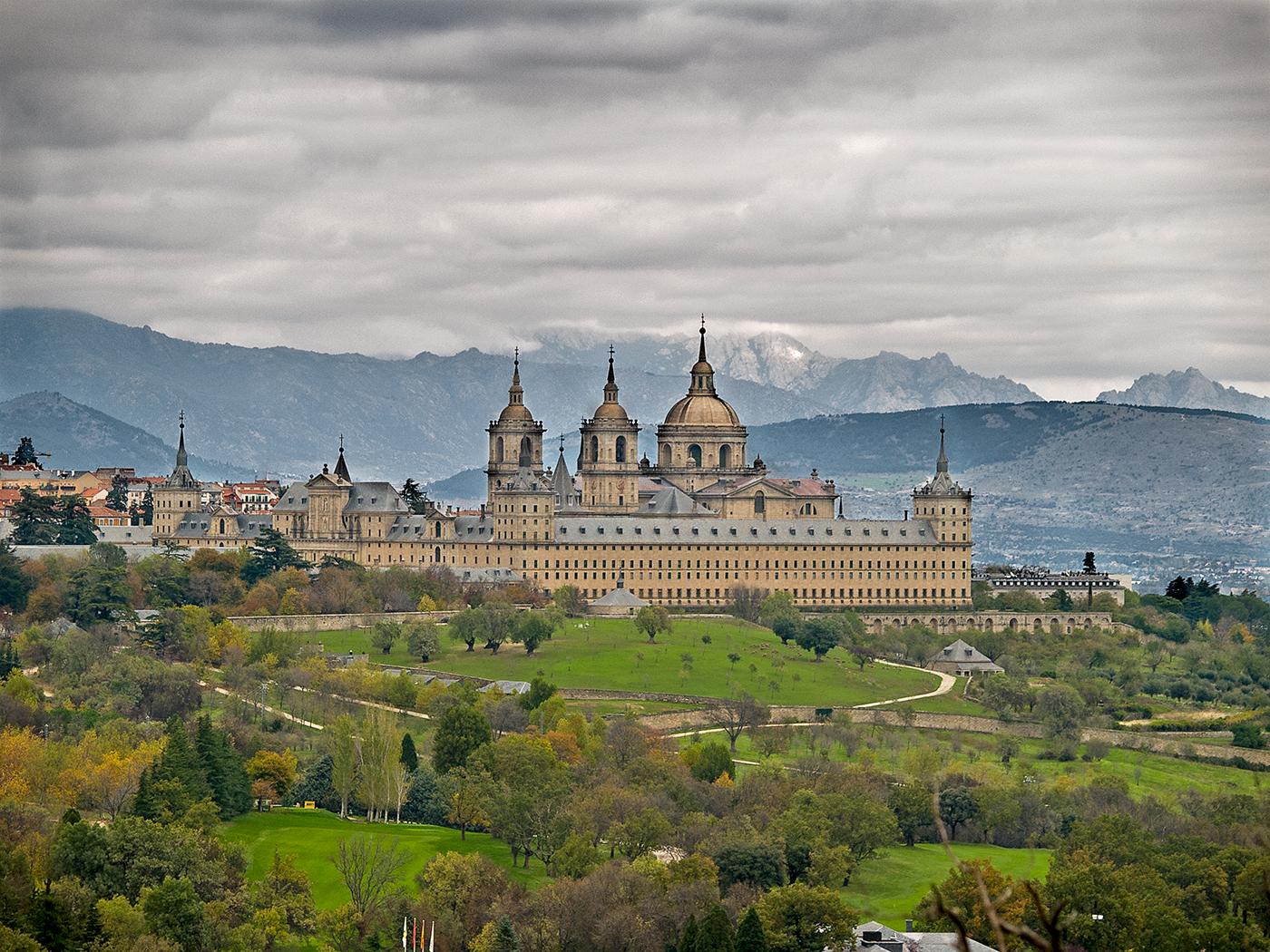 Monasterio del Escorial desde silla FII.com